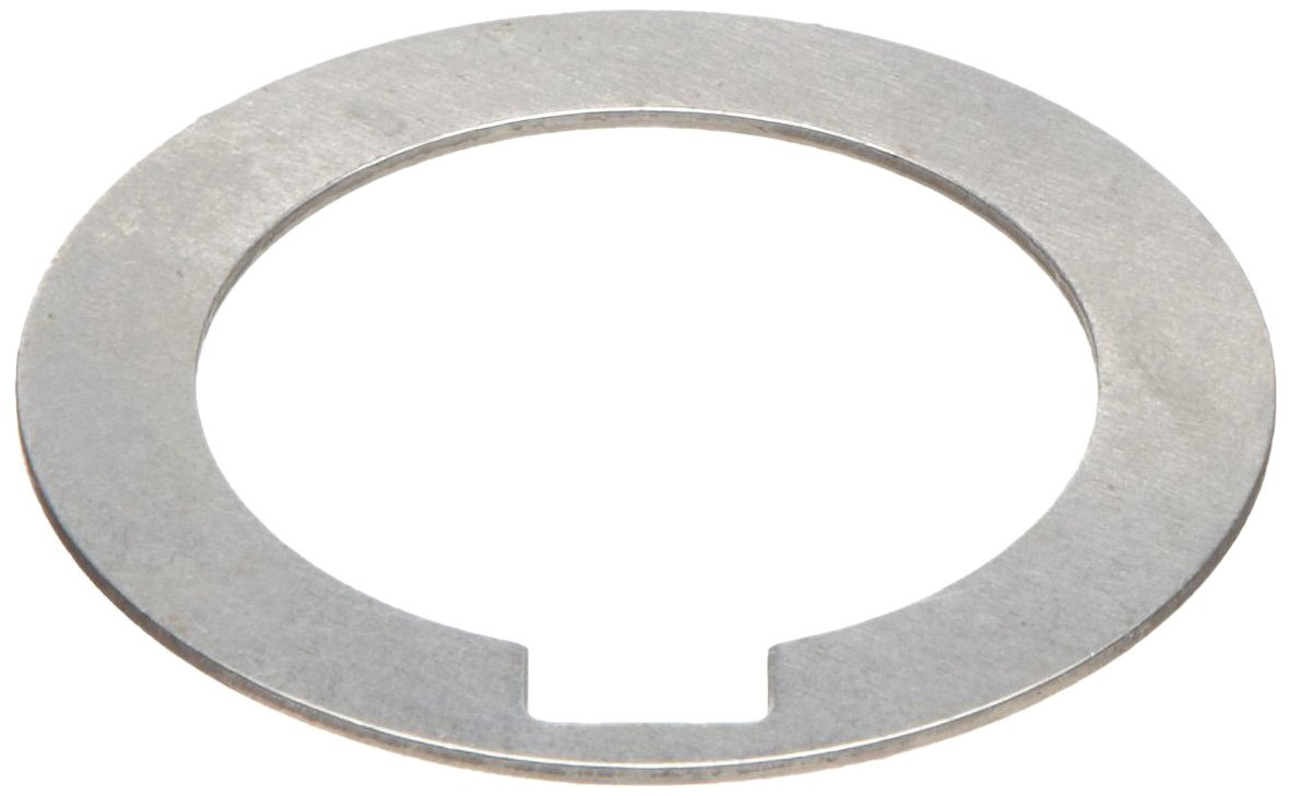 1008/1010 Carbon Steel Notched Shim, Matte Finish, Hard Temper, AISI 1008/AISI 1010, 0.004