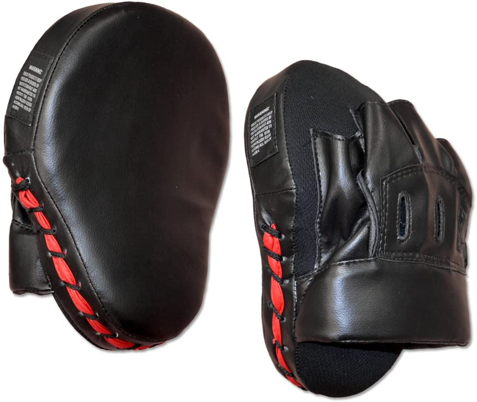 Ring to Cage Curved Punch mitt for MMA, Boxing, Muay Thai, Krav MAGA