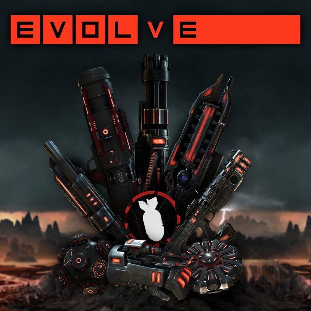 Evolve - Night Hunter Assault Skin Pack - PS4 [Digital Code]