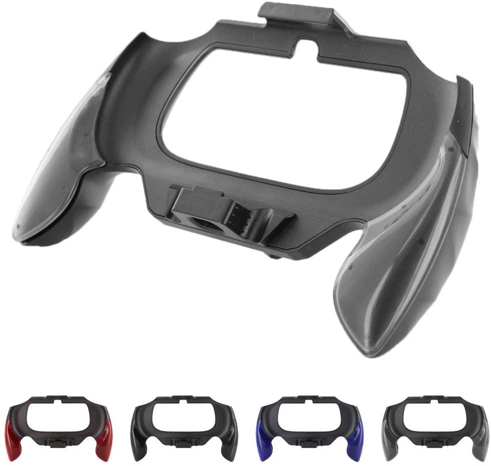 Skque® Durable PC Controller Handle Grip Joypad Attachment for Sony PS Vita 2000, Grey & Black