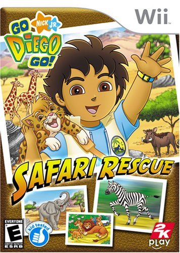 Go Diego Go Safari Rescue - Nintendo Wii (Renewed)