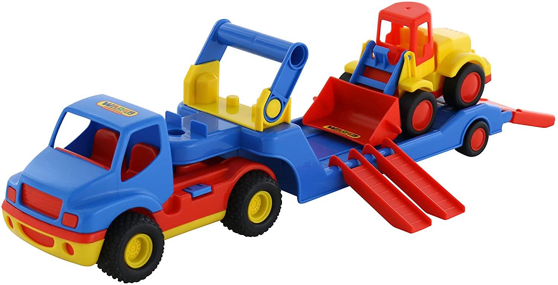Polesie Polesie8879 Construck Well Wagon and Excavator Toy