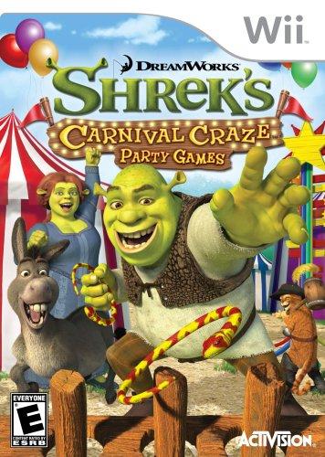 Shrek's Carnival Craze Party Games - Nintendo Wii