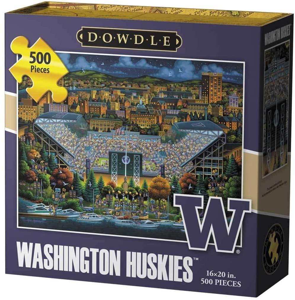 Dowdle Jigsaw Puzzle - Washington Huskies - 500 Piece