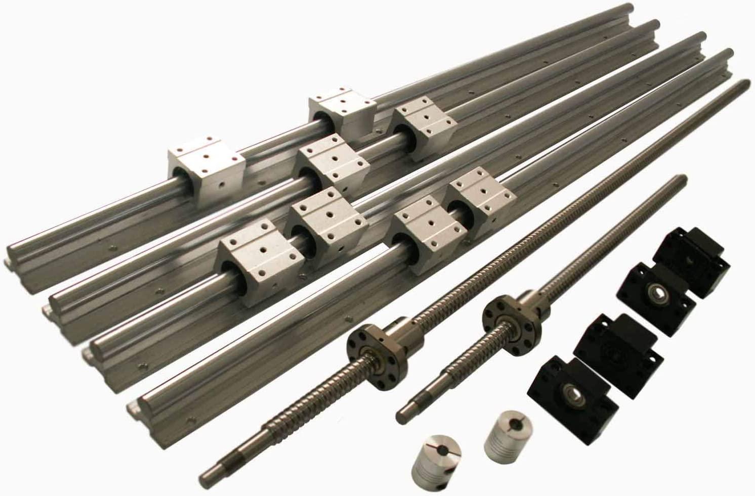 Joomen CNC SBR16 support rail RM1605 ballscrew 800/1150mm Linear Motion Kit