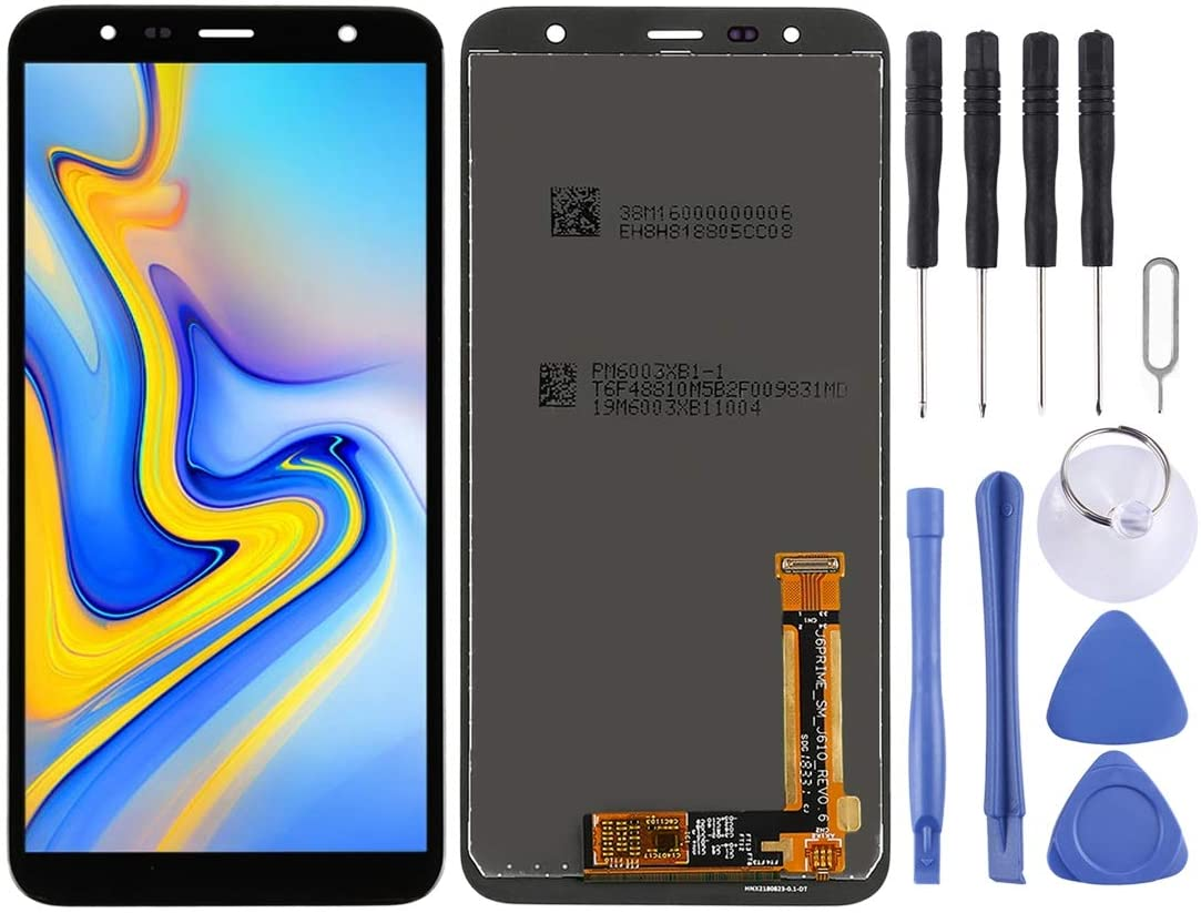 Hsifeng LCD Screen and Digitizer Full Assembly for Galaxy J6+, J4+, J610FN/DS, J610G, J610G/DS, J610G/DS, J415F/DS, J415FN/DS, J415G/DS (Black) Hsifeng (Color : Black)