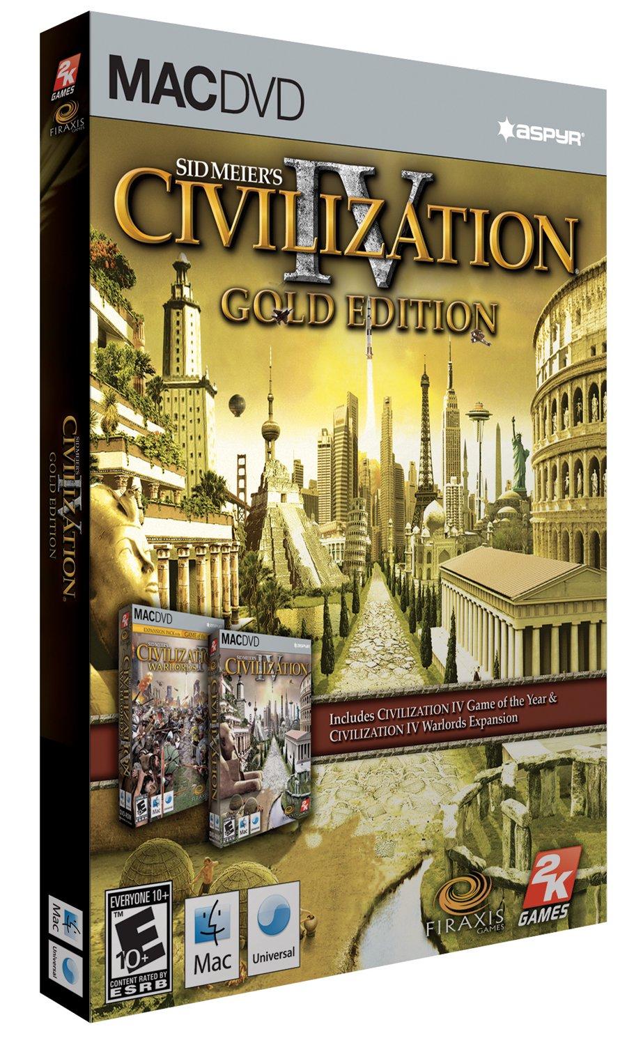 Civilization 4: Gold Edition - Mac