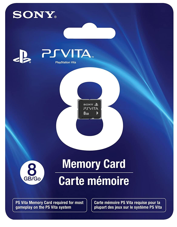 8GB PlayStation Vita Memory Card