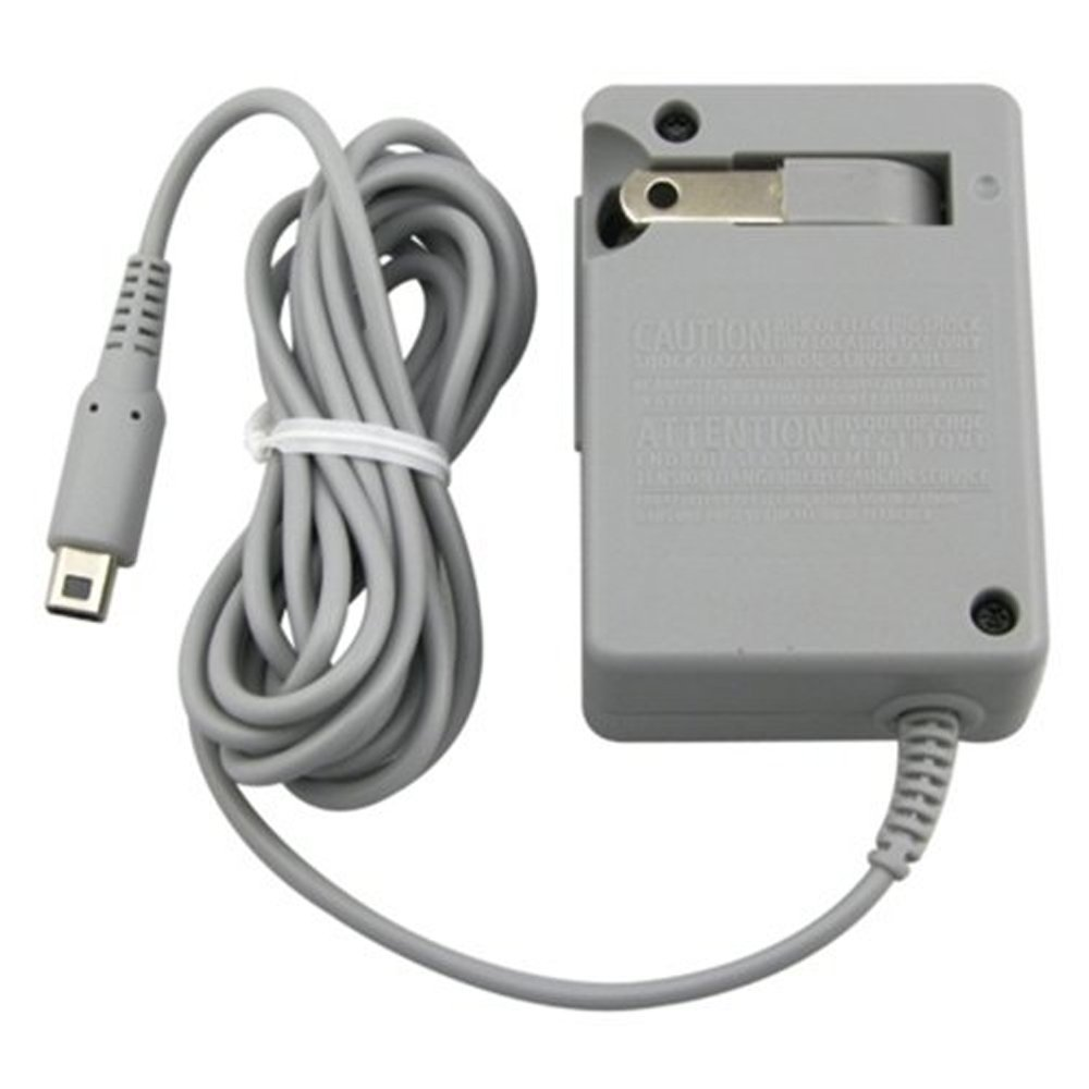 AC Adapter Charger for New 3DS/ New 3DS XL/ 2DS/ 3DS XL/ 3DS/ DSi XL/ DSi Home Travel Charger (110-240v)