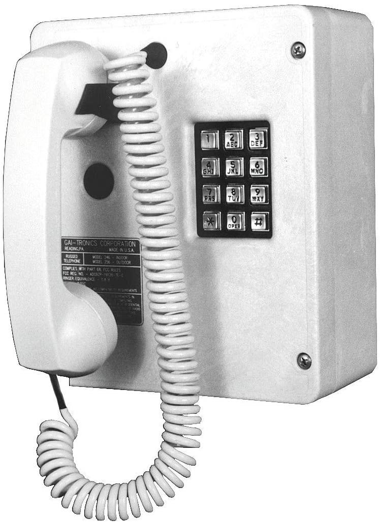 Telephone, Industrial Indoor, Single Line