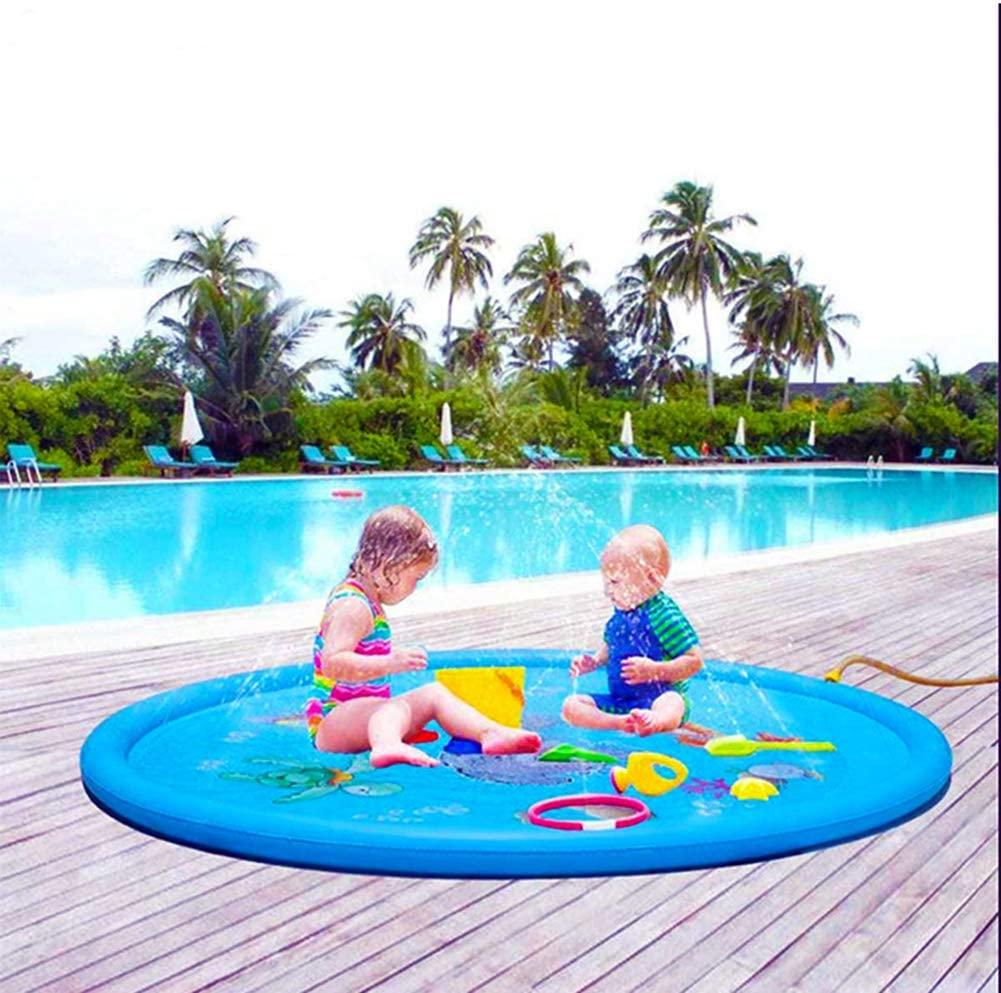 HONGLONG 3-in-1 Sprinkler for Kids,Outdoor Water Play Sprinklers,Children Outdoor Party Sprinkler Toy Splash Pad