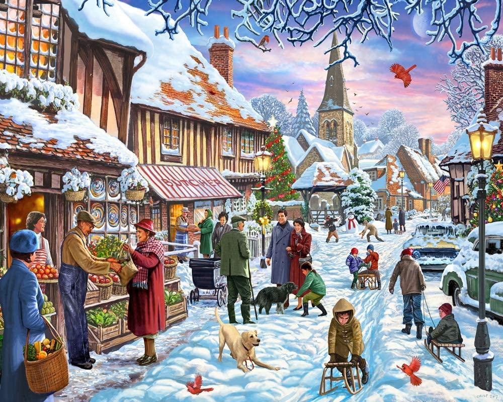 Winter Stroll Jigsaw Puzzle 1000 Piece