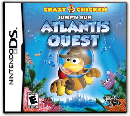 Crazy Chicken - Atlantis Quest - Nintendo DS