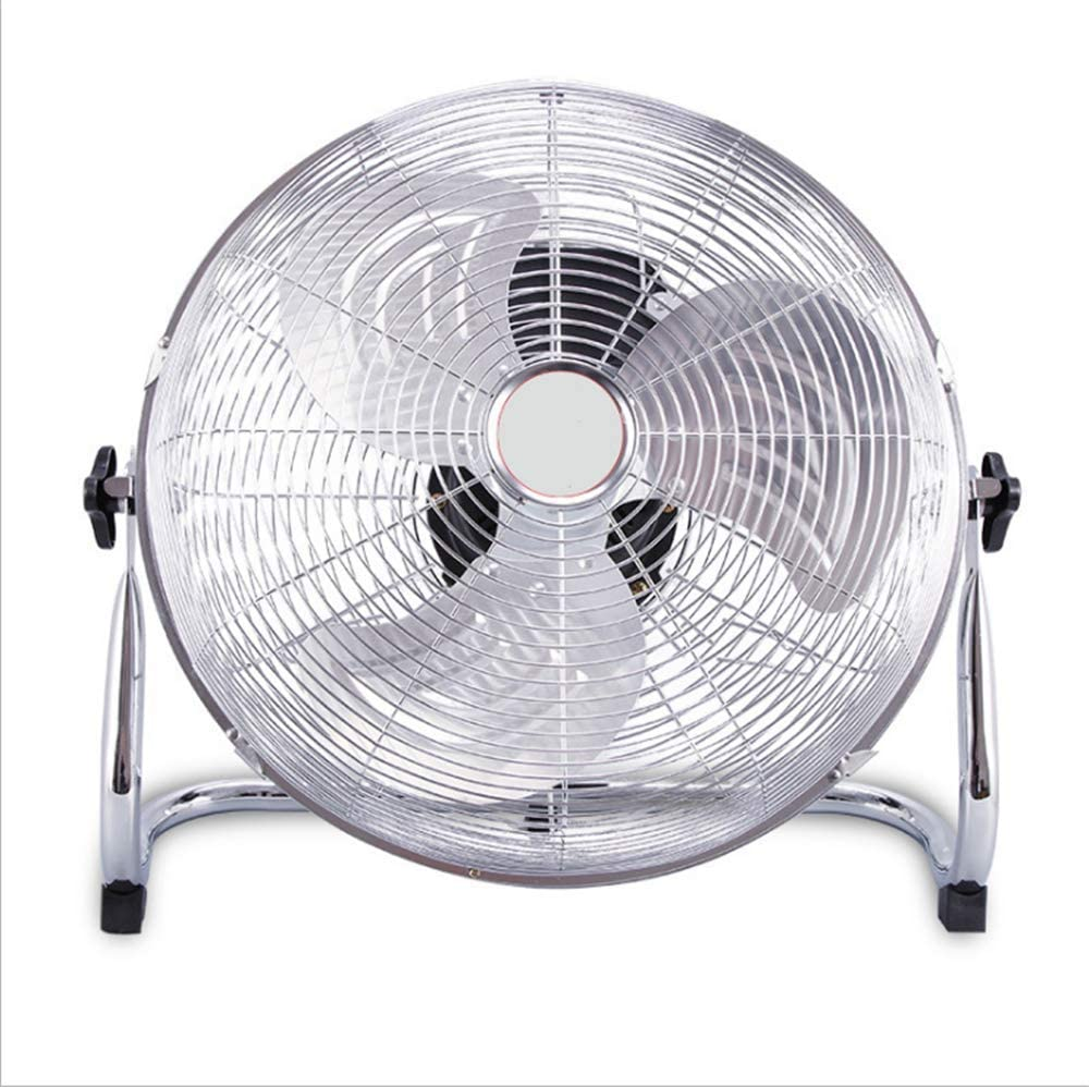 ZXWCYJ Fan, Battery Operated Floor Fan, Air Circulator Fan with Metal Blade, for Industrial, Commercial, Residential, and Shop Use,20 inch Five Gear