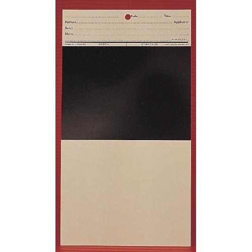 Leneta 3B-H Paint Test Chart, Opacity, Form 50 (Pack of 1000)