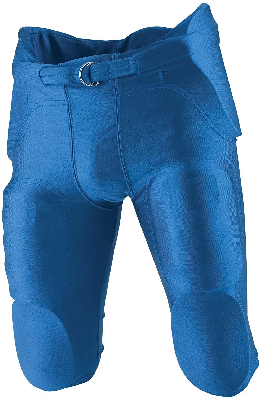 Rawlings F4500P Adult Integrated Football Pants (Royal, X-Small)