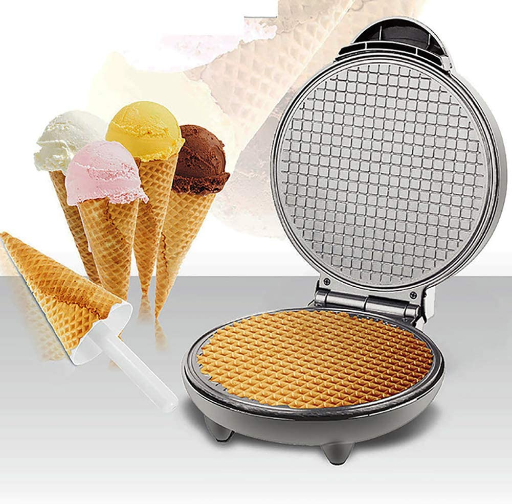 Electric Waffle Maker, French Lasagna, Quesadillas, Biscuits,Suitable for Single Pancakes, Biscuits, Eggs, Etc. When Going Out for Breakfast, Lunch And Snacks, Indicator Light