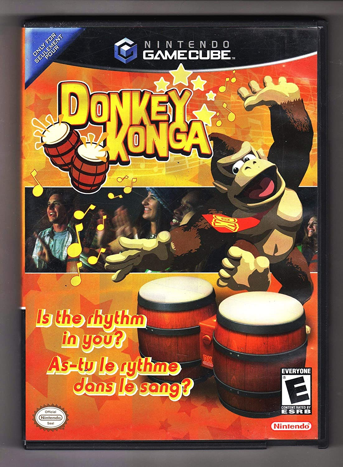 Donkey Konga (Game Only) (Renewed)