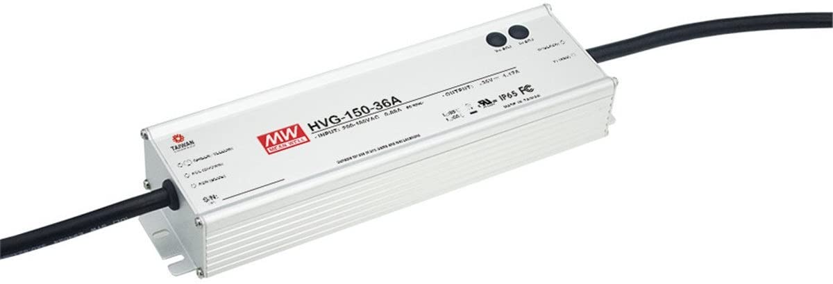 MW Mean Well Original HVG-150-42A 42V 3.5A 150W Single Output LED Switching Power Supply