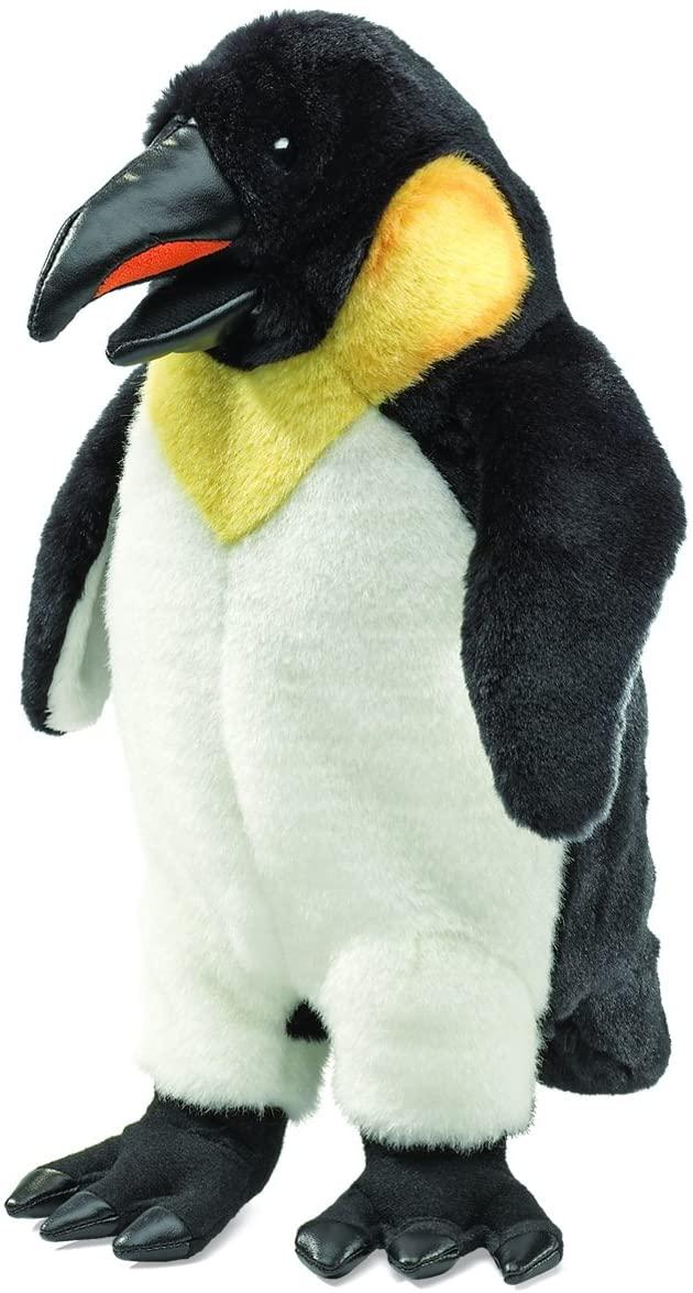 Folkmanis Emperor Penguin Hand Puppet