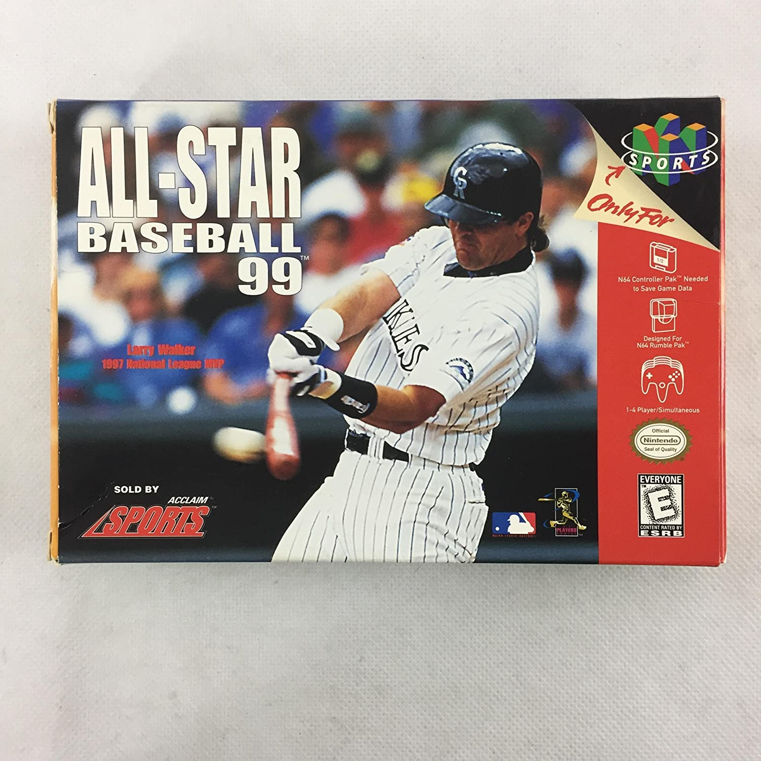 All Star Baseball 99 N64