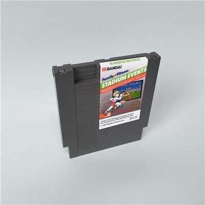Game cartridge Stadium Events - 72 pins 8bit game cartridge game classic , game NES , Super game , game 16 bit