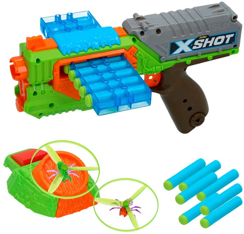 COLORBABY Color Baby Gun Swarm sekker and Insect Launcher Shot Bug Attack, Multicoloured Toys DHgate ES144773