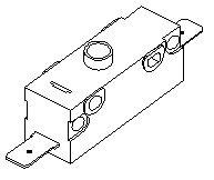 1 LB. Pressure Switch for Pelton & Crane PCS087