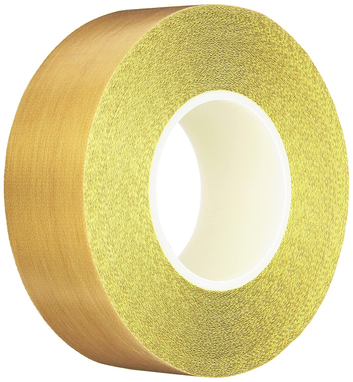 Teflon 21-3S Teflon Coated Tape, Silicone Adhesive, 2