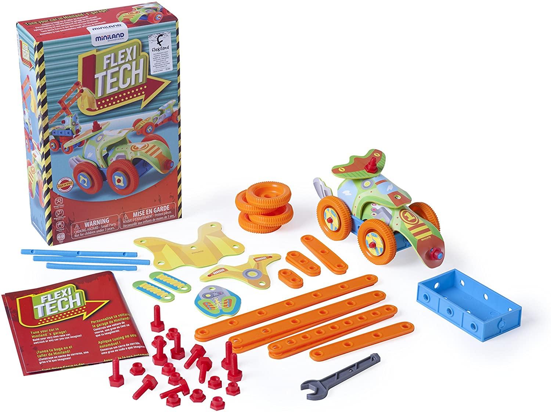 Miniland Flexi Tech Construction Set