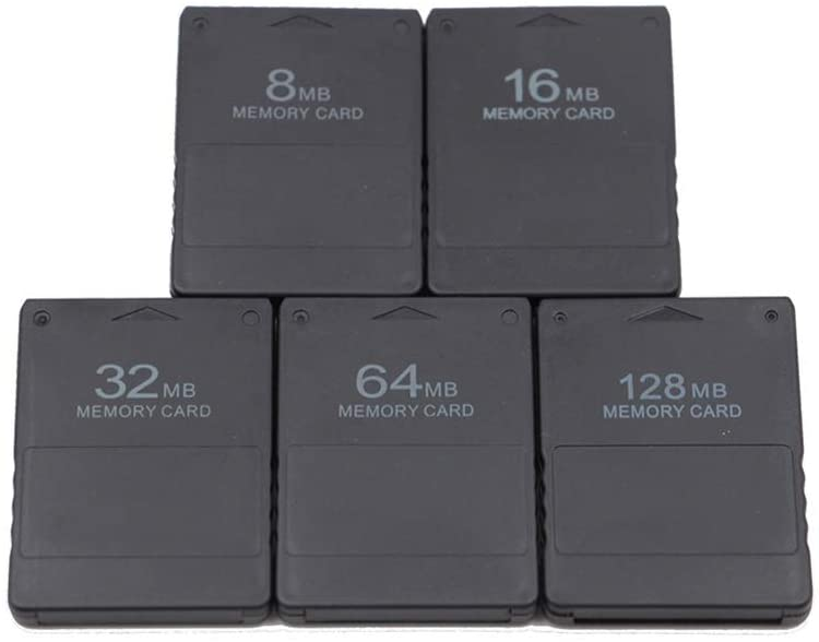 NetGolife Applicable PS2 Memory Card 8MB/16MB/32MB/64MB/128MB/256MB PS2 Memory Card