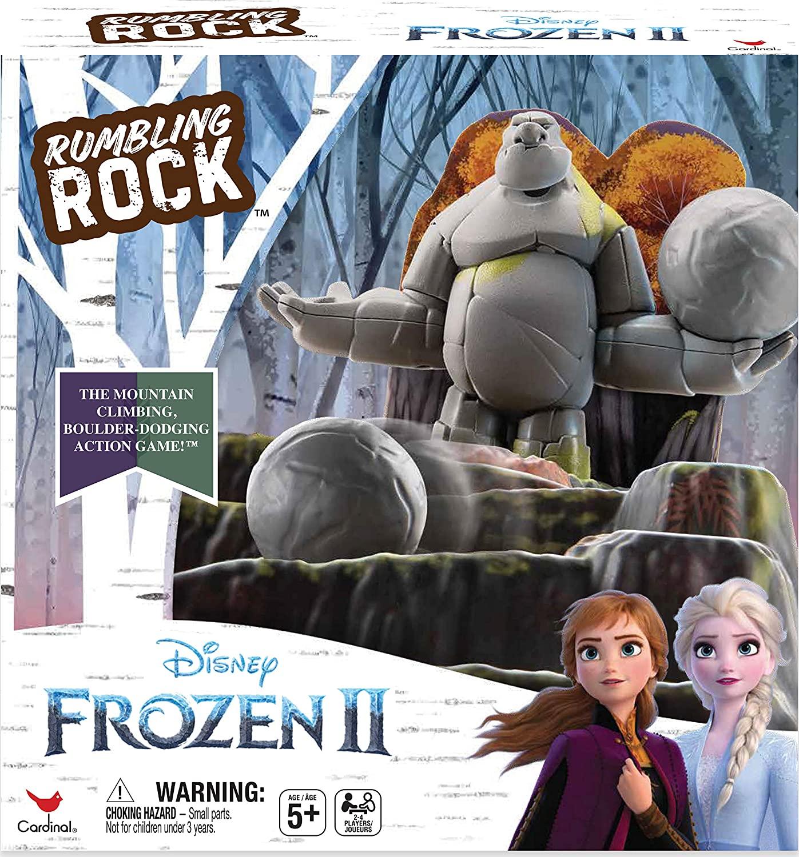 Cardinal Games 6053993 II Anna & Elsa Frozen 2 Rumbling Rock Game, Mixed Colours