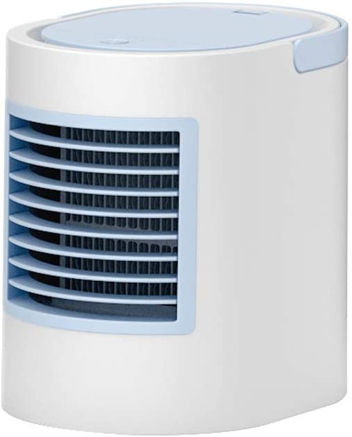 Desert camel Portable Air Conditioner, Mini Air Conditioner Water-Cooled Air Cooler Fan Humidification and Purification 3 Gears Wind Speed Soft Night Light Low Noise,B
