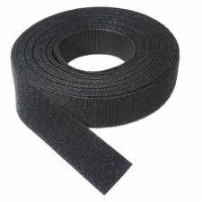 VELCRO 1802-OW-PB/B Black Nylon Onewrap Velcro Strap, Hook and Loop, 5/8
