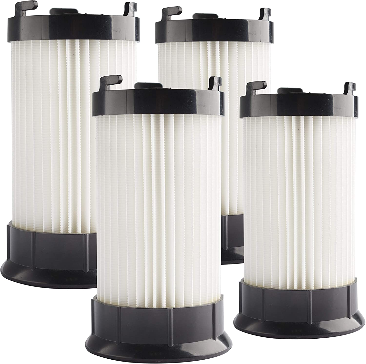 LTWHOME Replacement Washable Vacuum Filters Fit for Eureka DCF4 DCF18 GE DCF1 Vacuum Cleaner, Compare to Part # 62132 63073 61770 3690 18505 28608-1 28608B-1 (Pack of 4)