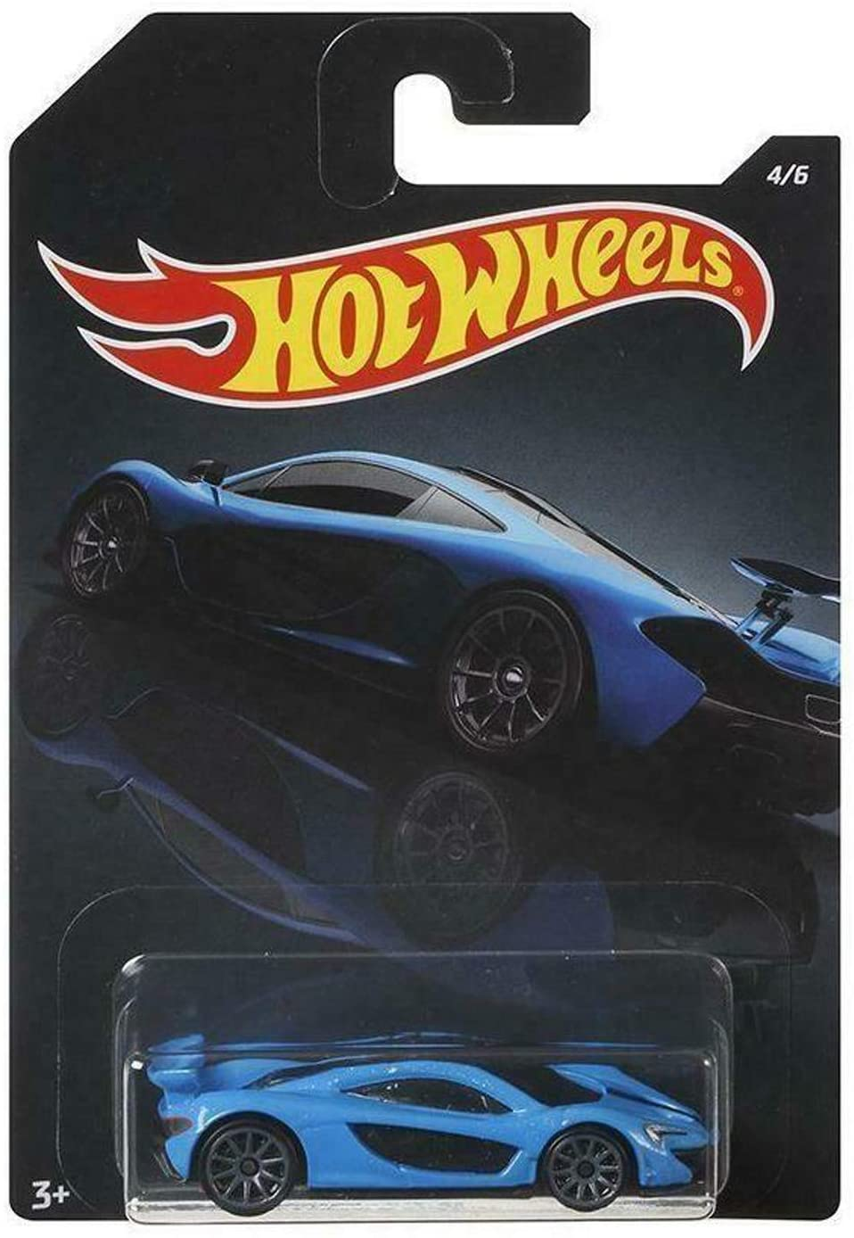 Hot Wheels 1/64 Scale Blue McLaren P1 #4/6 Diecast Model Car