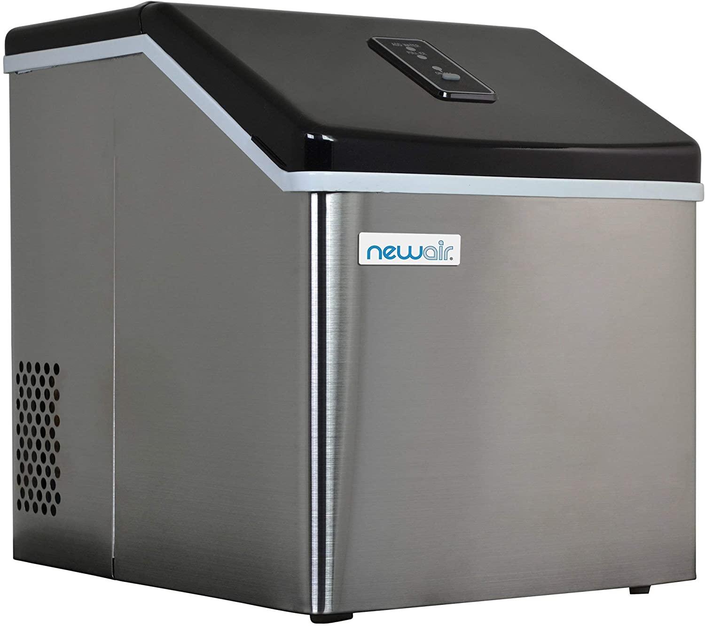 NewAir ClearIce40 Portable Countertop Ice Maker Machine (Renewed)