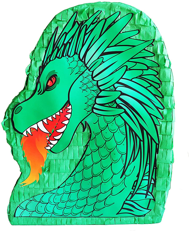 Aztec Imports, Inc. Green Dragon Pinata