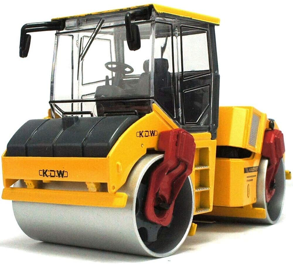 Ycco 1:50 Scale Diecast Tow Truck Wrecker Road Models Model Construction VehiclesBulldozers, excavators, forklifts, Two-Way Rope chippers, Trucks, Road Rollers ( Color : Rollers )