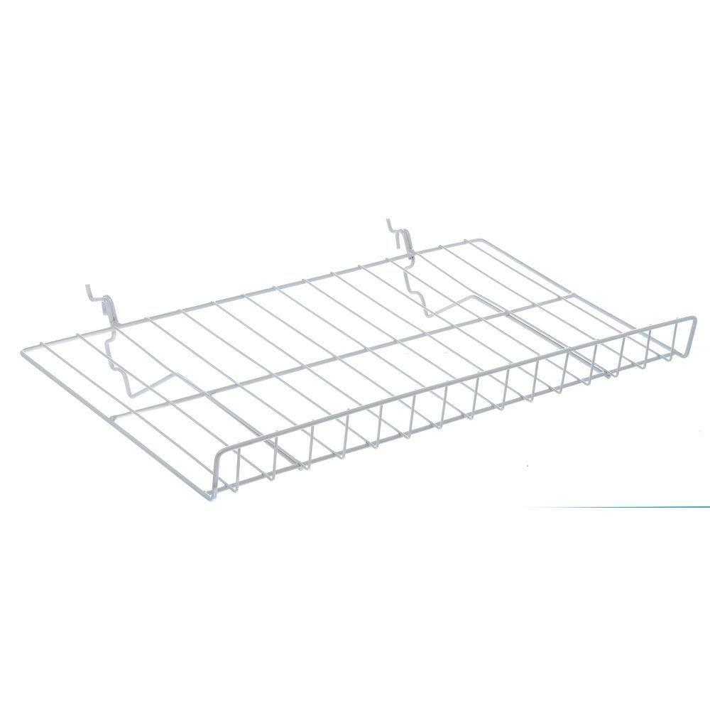 Pegboard Shelf Black Finish 46 x 6 1/2 x 2 (L x D x H)