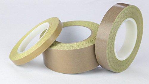 Teflon 21-3S Teflon Coated Tape, Silicone Adhesive.625