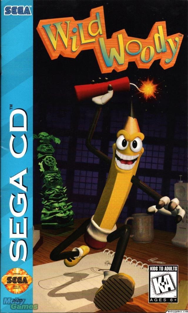 Wild Woody (Sega CD)