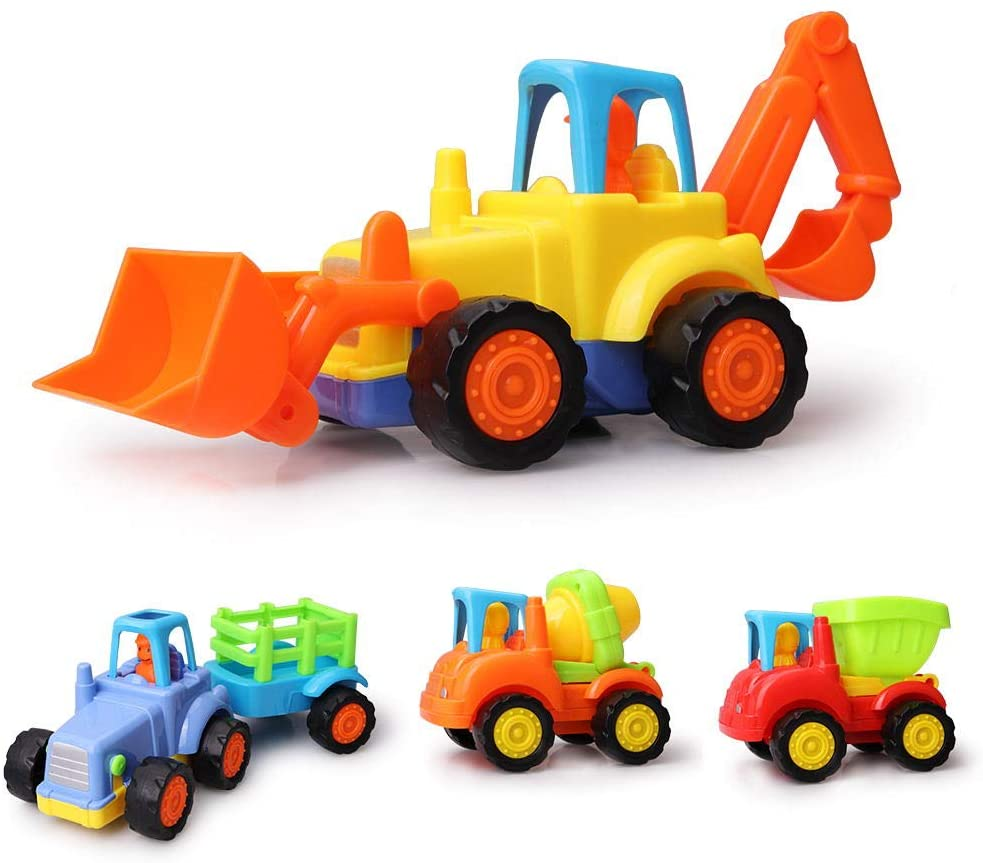 Toys for 2-9 Year Old Boys, Cars Toys Engineering Toy car 2 3 4 5 6 7 8 9 10 11 Year Old Boy Toys for 3-9 Year Old Boys Birthday Present