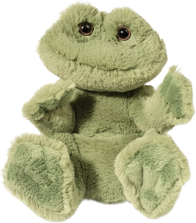 Douglas Frog Lil' Handful Plush Stuffed Animal