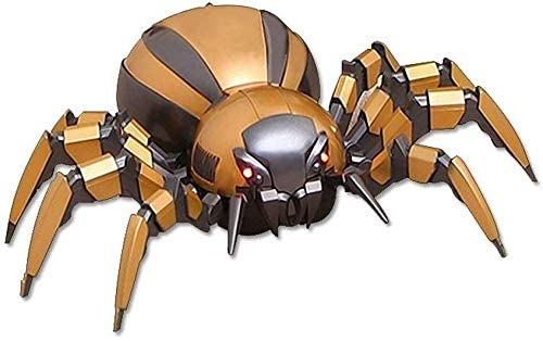Xuess Spider Child RC Auto Child Scorpion Electric Car Animal Crawling Wear-Resistant Fall Simulation Remote Control Car Toy (Color : Gold)