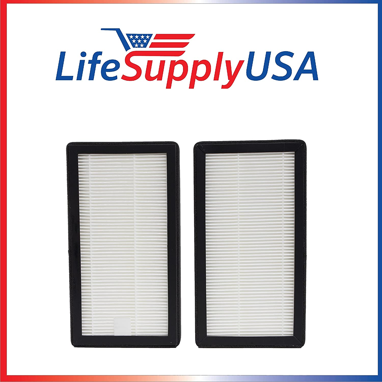 LifeSupplyUSA 2 Pack HEPA Filter Compatible with Coway-USA Model AP-0510IH