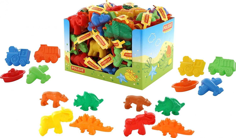 Polesie Polesie49476 Shapes Assorted, 24 Sets (Display) -Summer Toys, Multi Colour