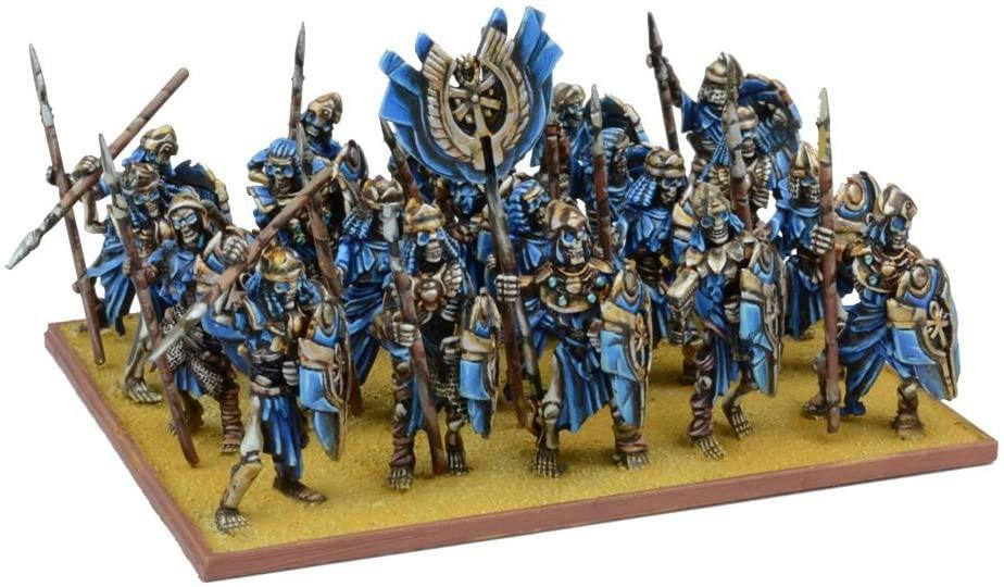 Kings of War -  Empire of Dust Skeleton Regiment