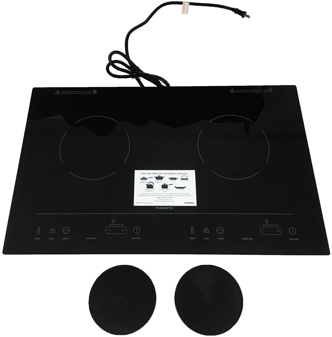 Dometic 55889 CI21 Induction Cooktop