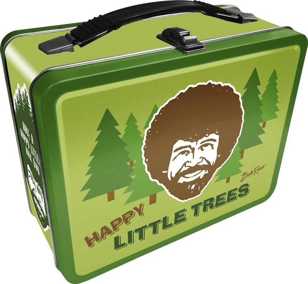 Aquarius Bob Ross Happy Tree Large Gen 2 Tin Storage Fun Box